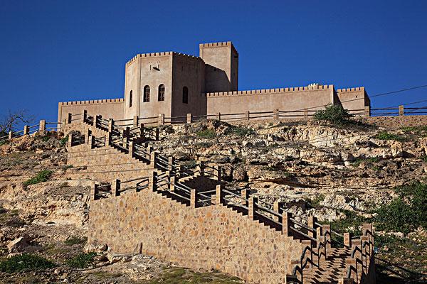 堡垒,南方,阿曼,阿拉伯半岛,中东,亚洲