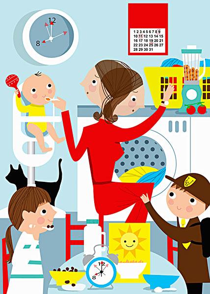 母亲的家人为我生孩子小说