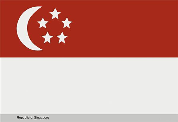 新加坡国旗 各国国旗图片及名称 马来西亚国旗