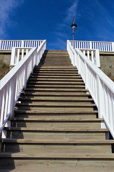 木制的台阶