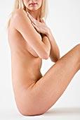 裸露,女人,手臂,胸部