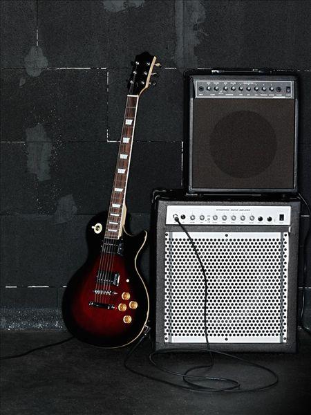 电吉他和放大器