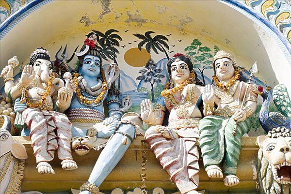全景图片网:印度教,神祠