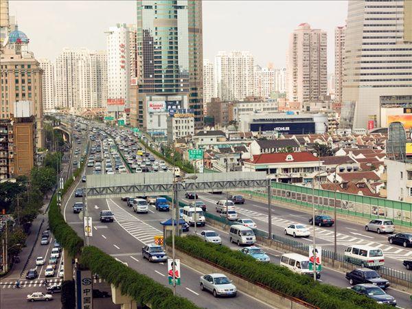 高架路,上海图片