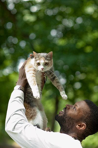 喜欢用猫做头像的男人