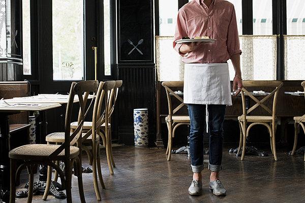 标题:咖啡店服务员