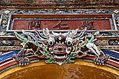龙,大门,色调,越南