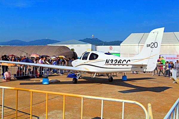 珠海飞机展览