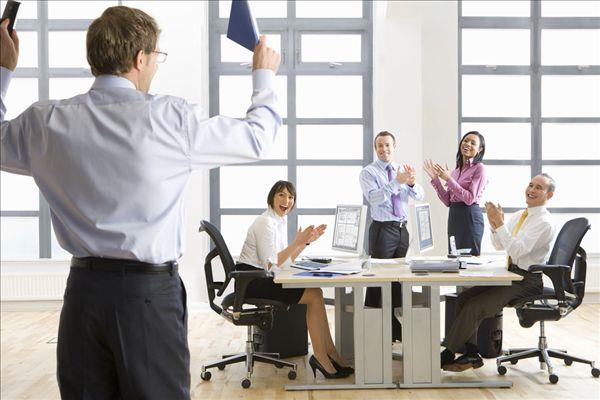 全景图片网:商务人士,办公室