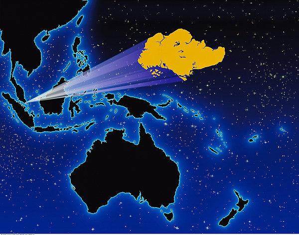设计元素 >东南亚地图
