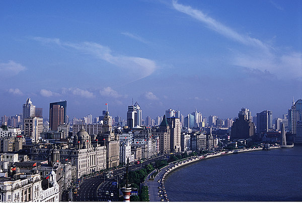 城市,街道,外滩,上海,中国图片