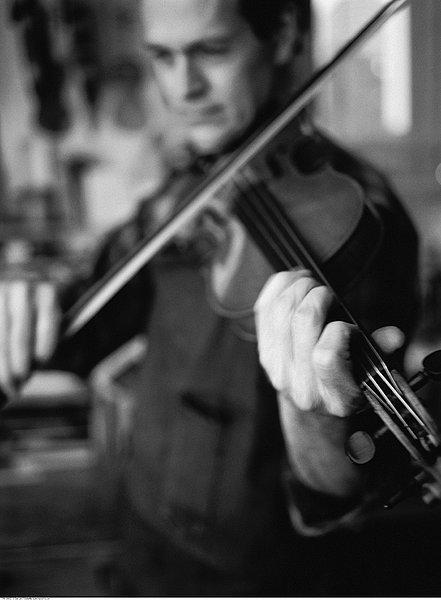 琴师小提琴五线谱