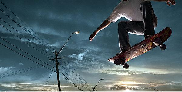 滑板-时尚生活-全景网