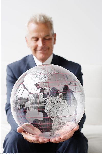 >中东地图  成熟的男人举行全球