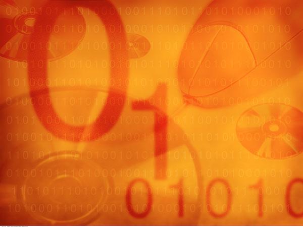 抽象拼贴画,二进制码,电脑鼠标