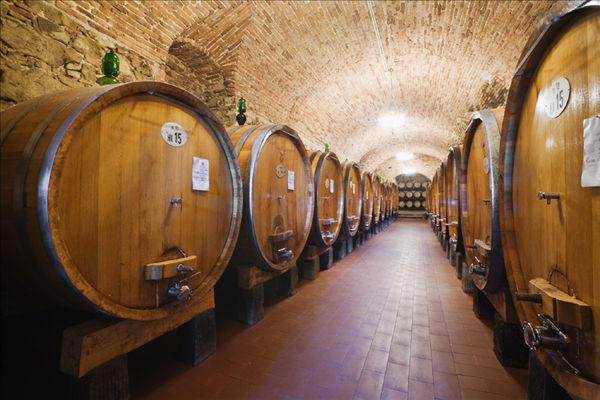 全景图片网:桶,葡萄酒