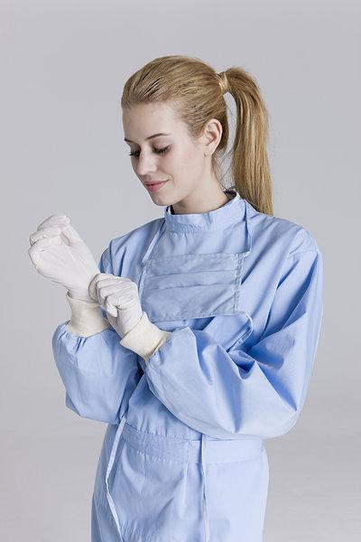 穿戴 手术手套