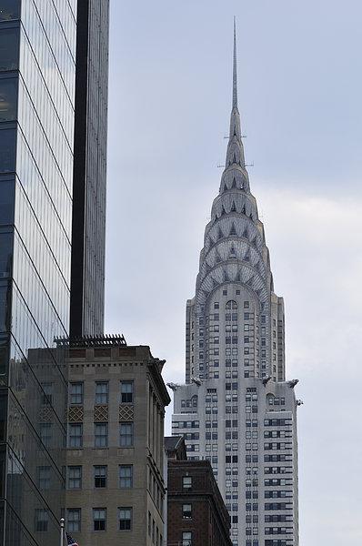 克莱斯勒大厦,曼哈顿,纽约,美国