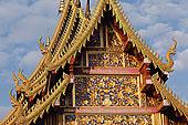 庙宇,特写,清迈,泰国