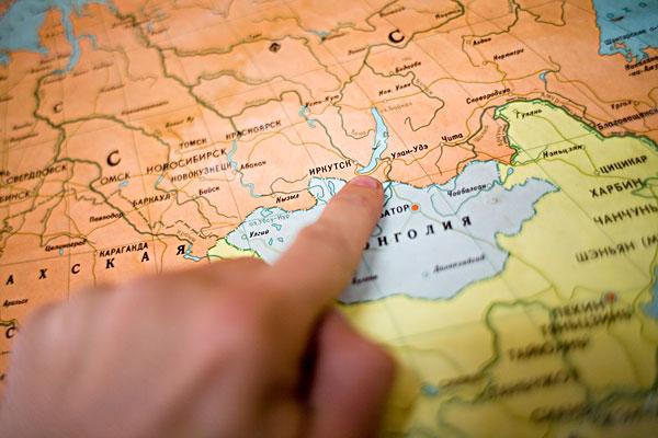 俄罗斯,地图