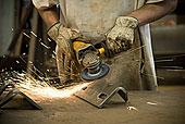 工作,片,金属,工厂,八月,2008年,西维吉尼亚