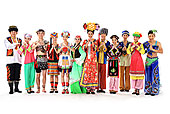 中国少数民族