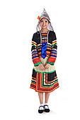 中国少数民族基诺族