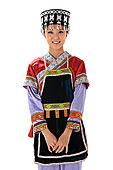中国少数民族侗族女人