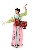 中国少数民族朝鲜族女人