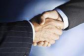 中年,商务人士,握手,特写,电脑合成