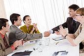 照片,成功,合作伙伴,握手,惊人,交易,欢呼,雇员,靠近