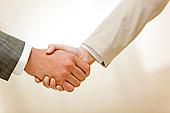 照片,握手,合作伙伴,惊人,交易