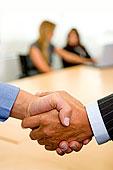 商务,握手,办公室,交易