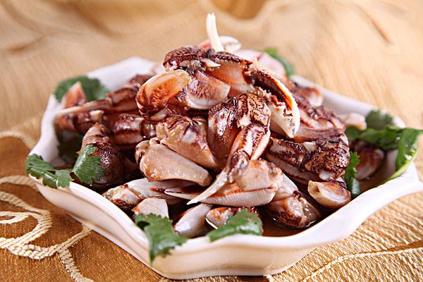 青岛蟹钳美食图片