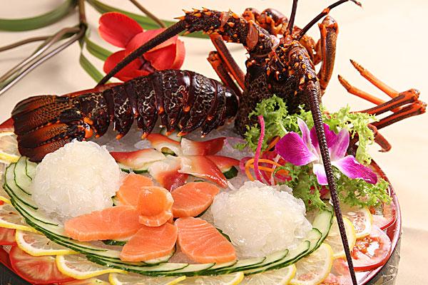 龙虾刺身 高清图片