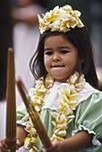 夏威夷/夏威夷,草裙舞,节日,舞者,竹子,棍...