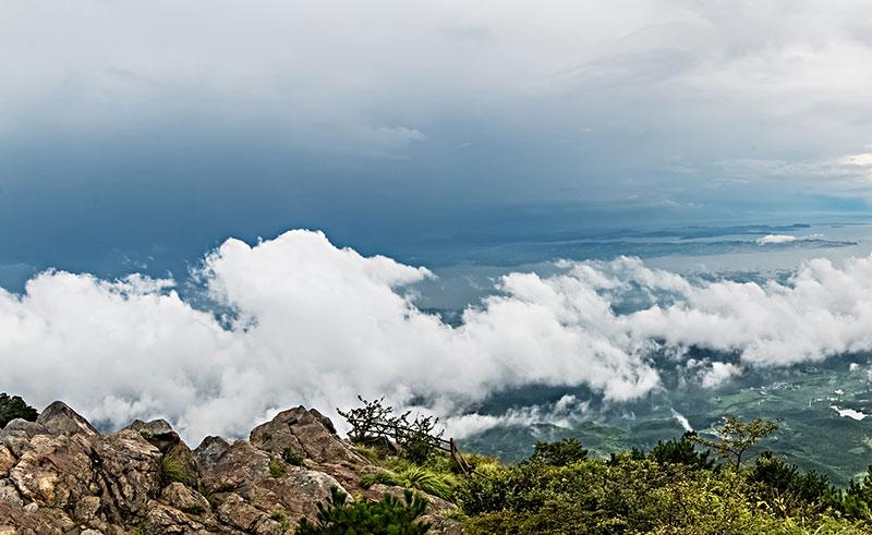 江西省九江市庐山风景区自然景观