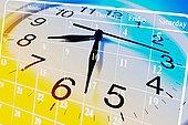 合成效果,钟表,日程