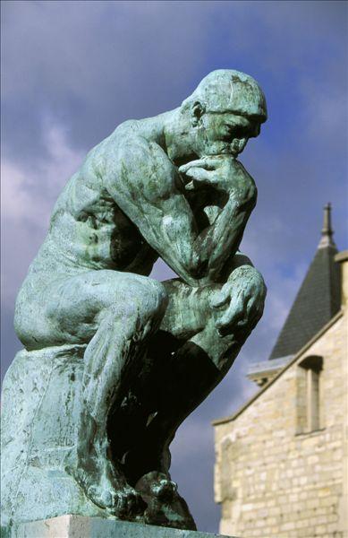 巴黎,罗丹,雕塑