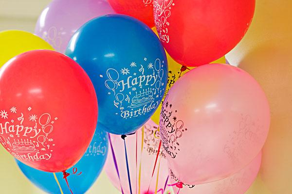 生日派对,气球图片
