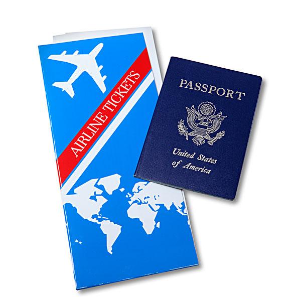 换新护照 乘坐飞机