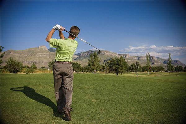 男人,打高尔夫,新墨西哥,美国