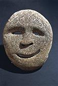 爱斯基摩,面具,展示,波特兰,博物馆,俄勒冈,美国,北美