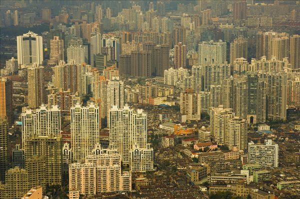 航拍,东方明珠塔,上海