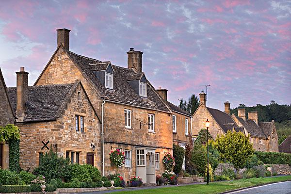 英国农村房子图片