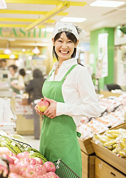 超市店员图片