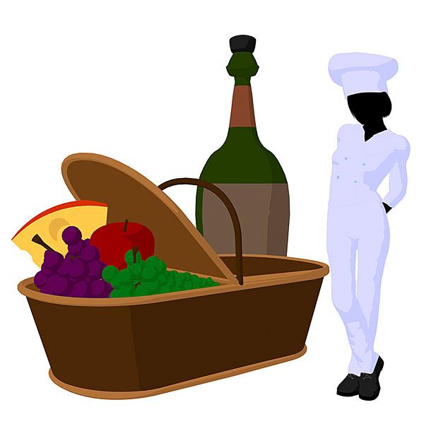 欧式红酒架厨师