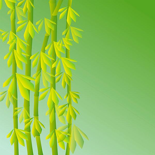 抽象,竹子,背景,绿色,倾斜