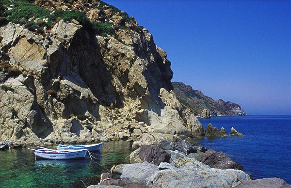 拔摩岛希腊多德卡尼斯_全景图片