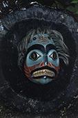 面具,艺术家,鲨鱼,创意,收集,努特卡,阿拉斯加,美国